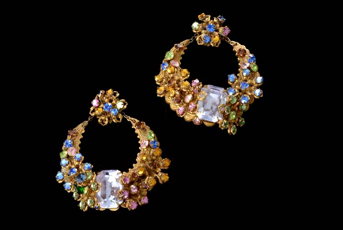 Miriam Haskell signed earrings & Vintage Costume Jewelry Finds at a Price Thatu0027s Precious. | Alameda ...