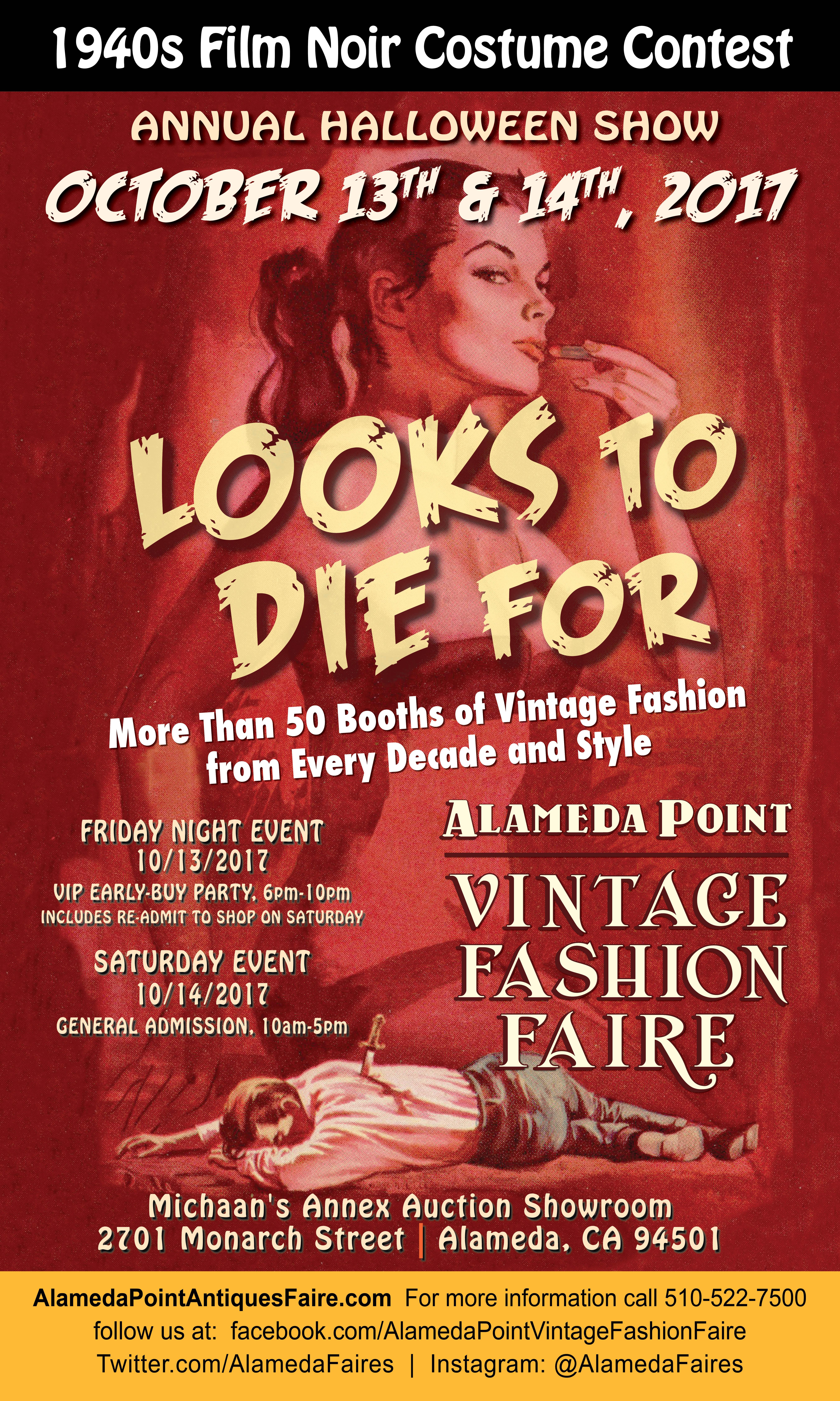 Alameda point vintage fashion fair 85