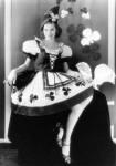 Lucille Ball in traditional Irish attire