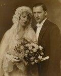 vintage wedding photo ca. 1920's